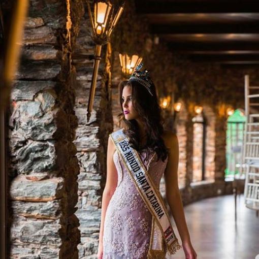 Miss Mundo Santa Catarina no Castelo!